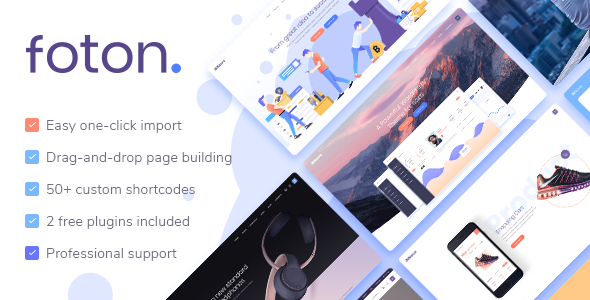 Foton WordPress Theme