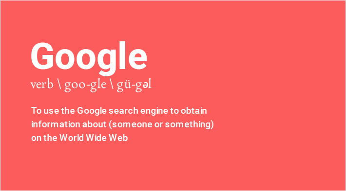 search engines = Google