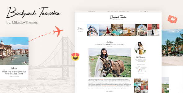 Backpack WordPress Theme