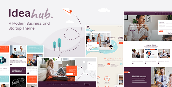 Ideahub WordPress Theme