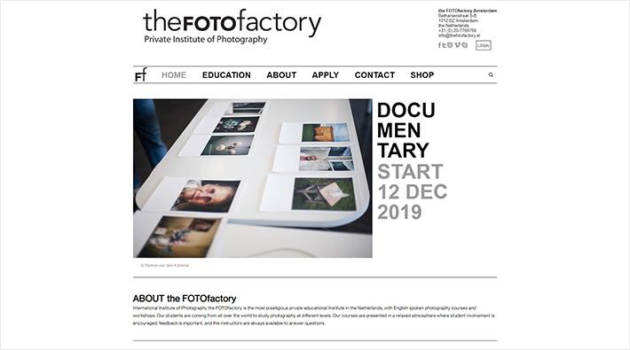 the FOTOfactory