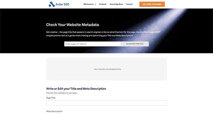 Ardor Metadata Length Checker