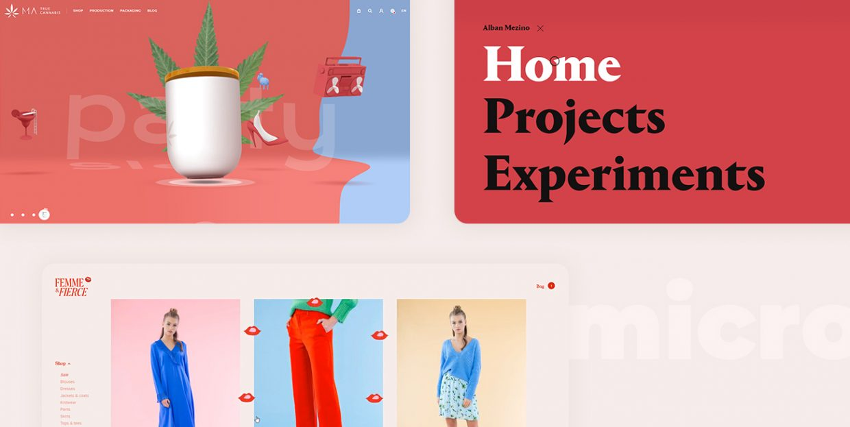 10 Websites with Inspiring Micro-Interactions