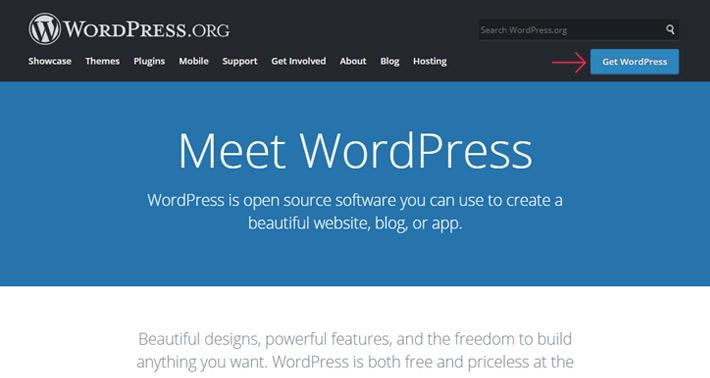 Get WodrPress