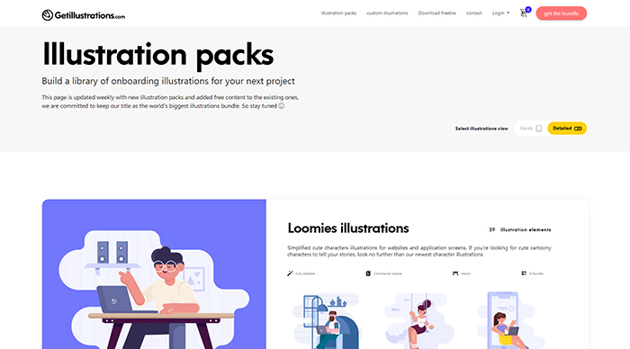 Illustration packs
