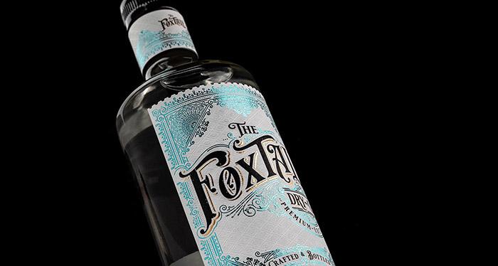 Fox Tale Gin packaging
