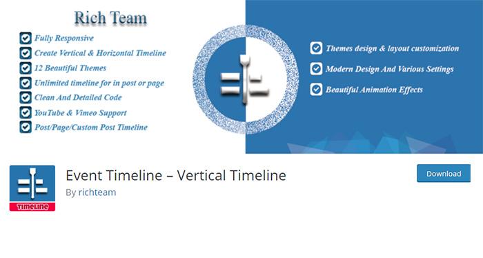 Event Timeline Plugin