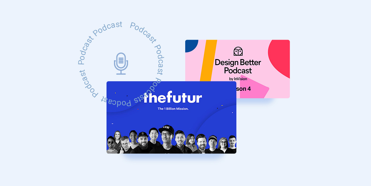 Inspiring Design Podcasts to Listen to While You Work
