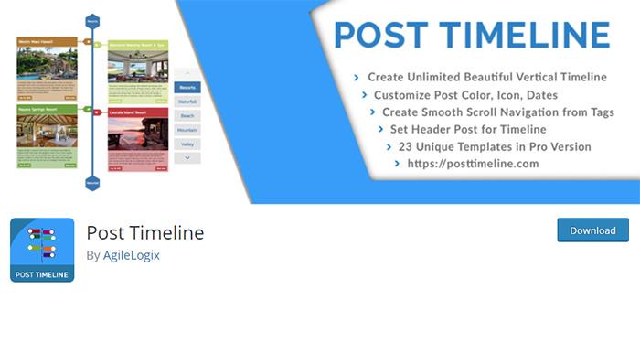 Post Timeline Plugin
