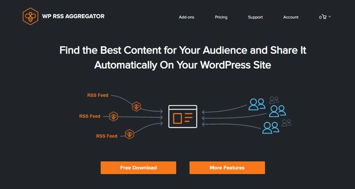 WP RSS Aggregator Plugin - Rss feed plugin