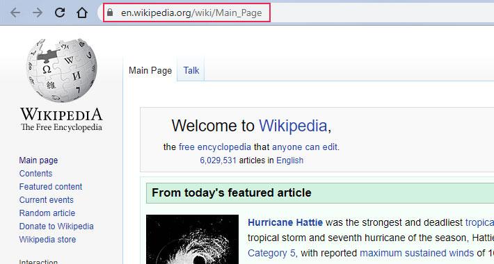 Wikipedia Main Page