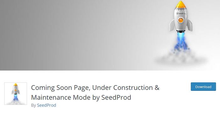 Coming Soon Page, Under Construction & Maintenance Mode by SeedProd