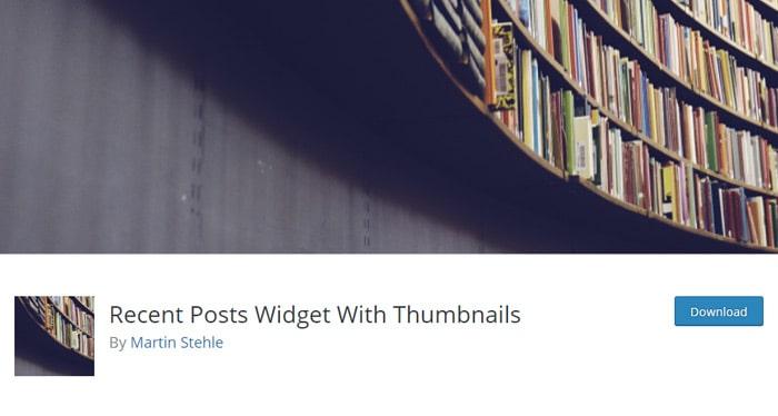 Recent Posts Widget With Thumbnails