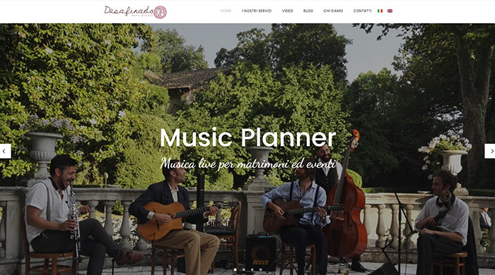 Desafinado Music Planner