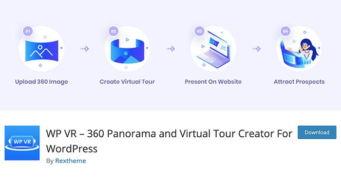 WP VR – 360 Panorama and Virtual Tour Creator For WordPress