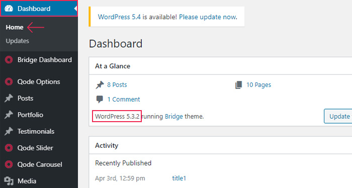 How To Find Which Wordpress Version You Are Using Qode Interactive