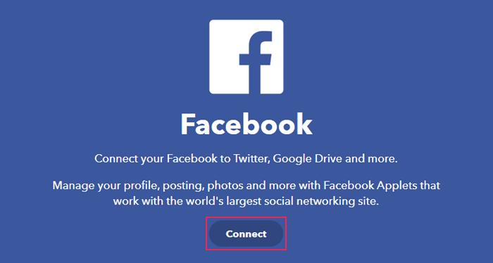 IFTTT Facebook page