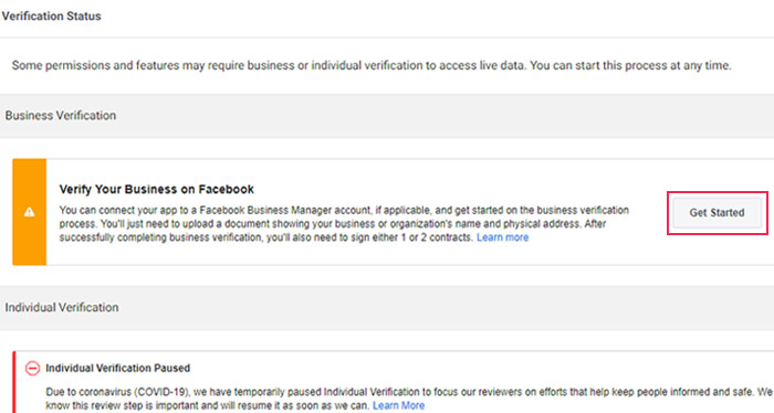 Verify Your Business on Facebook