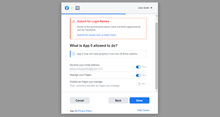Determine what your app is allowed to do