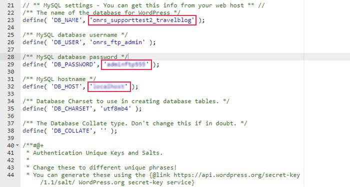 Edit lines of code