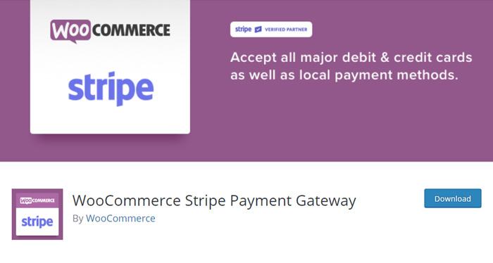 Stripe Plugin for WooCommerce