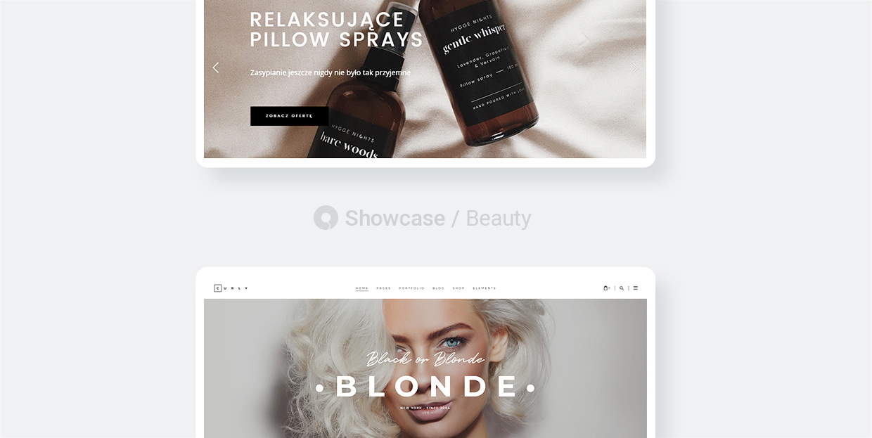 Beauty Websites Made With Qode Interactive Themes