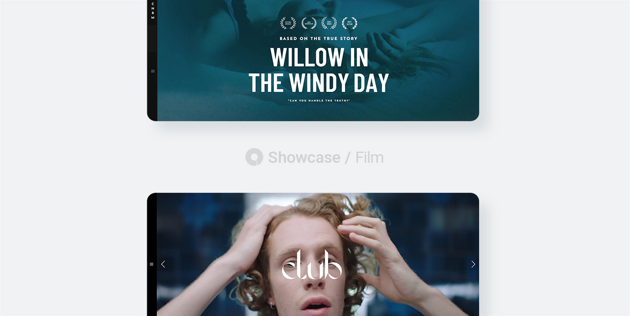 19 Best Film Websites Made With Qode Interactive Themes