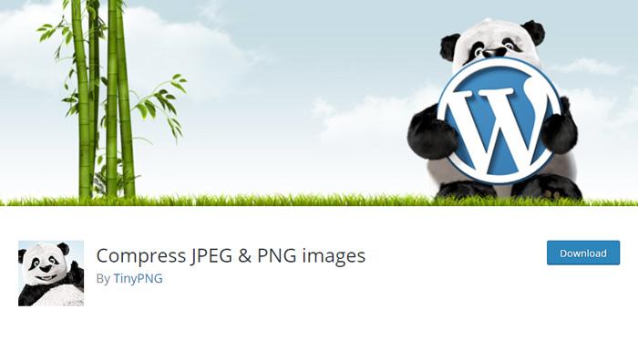WordPress plugins for image compression: Compress JPEG & PNG images