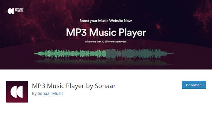MP3 Music Player by Sonaar
