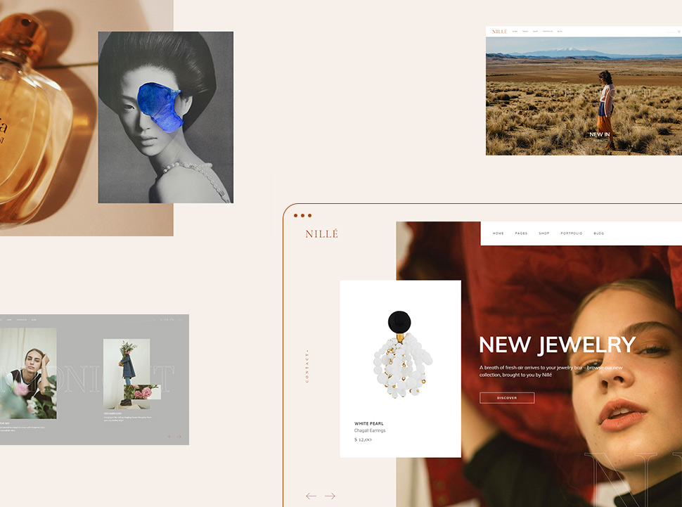 Nille eCommerce Theme A Case Study list