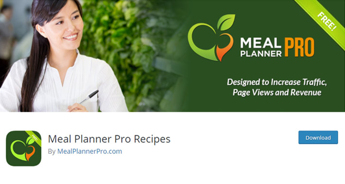 Meal Planner Pro Recipes Plugin