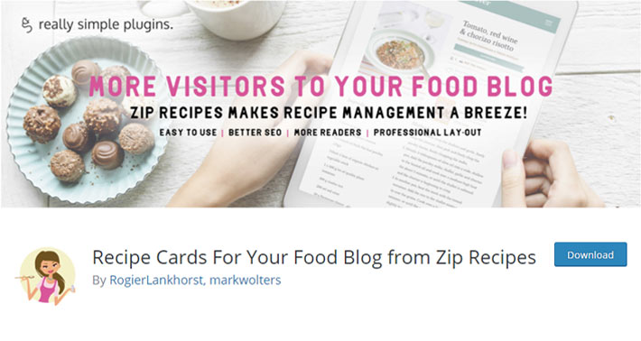 Recipe Cards For Your Food Blog from Zip Recipes Plugin