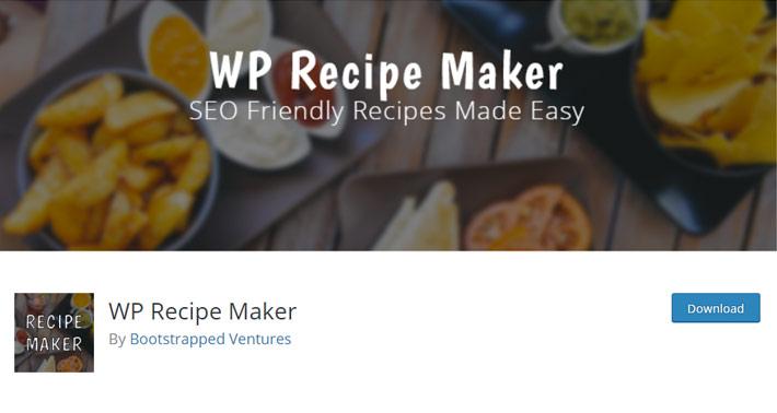 WP Recipe Maker Plugin