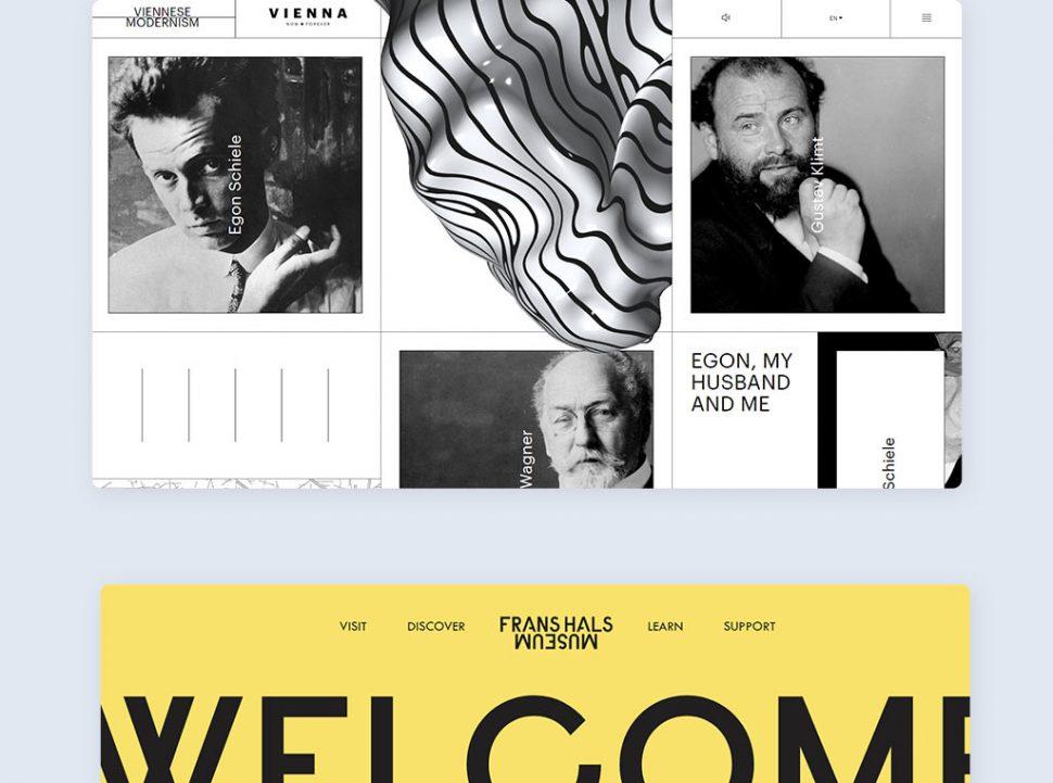 12 Cases Where Web Design Meets Contemporary Art Blog