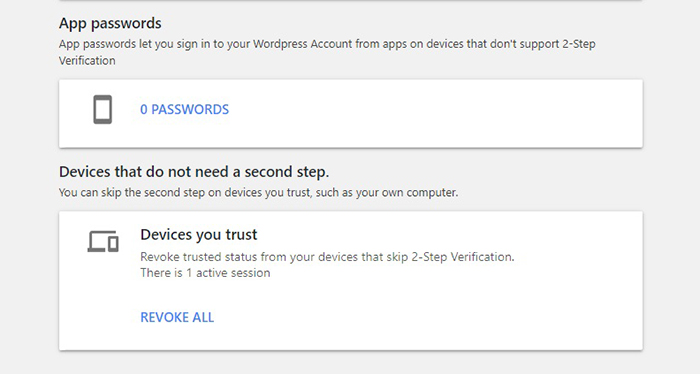 2-Step Verification Second Step
