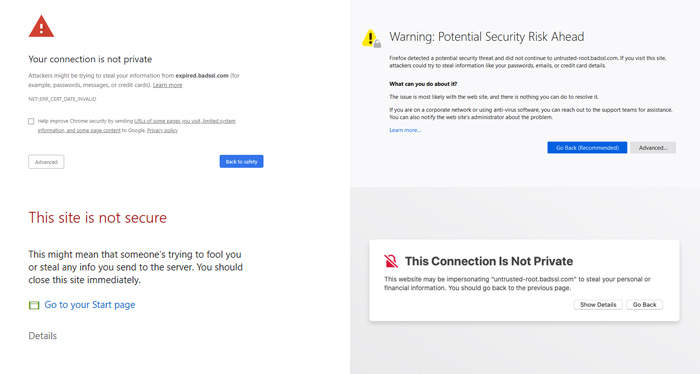 Connection is Not Private
