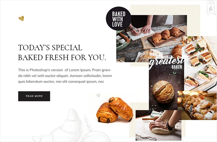 Fonts for bakery websites