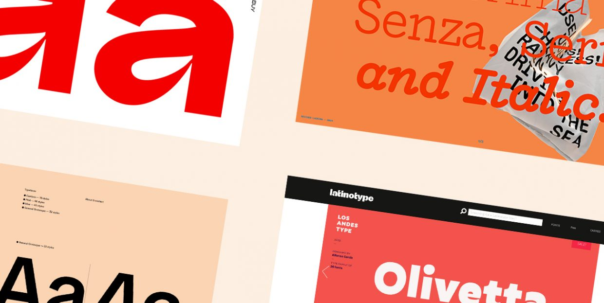 The 13 Best Type Foundries Every Web Designer Should Check Out