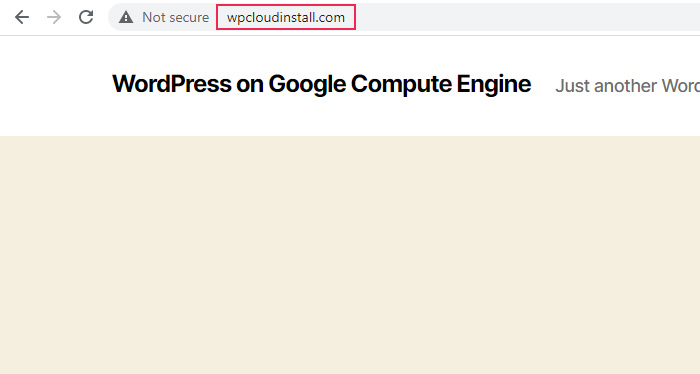 Log in again with your admin credentials and examine your website. Your WordPress website will properly point to your domain name from now on.