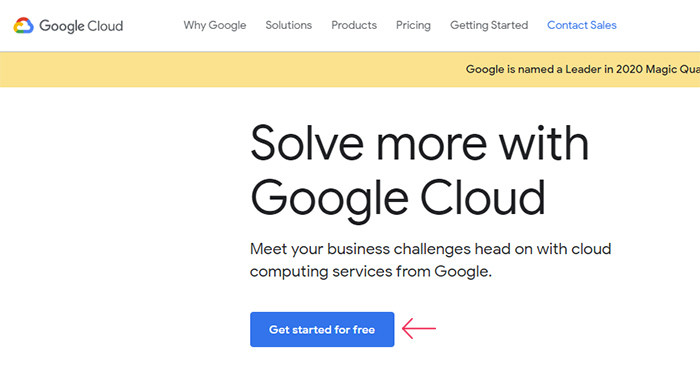 Google Cloud Getting Started