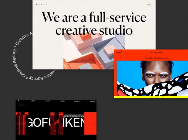 14 Inspiring Creative Agency and Designer Websites