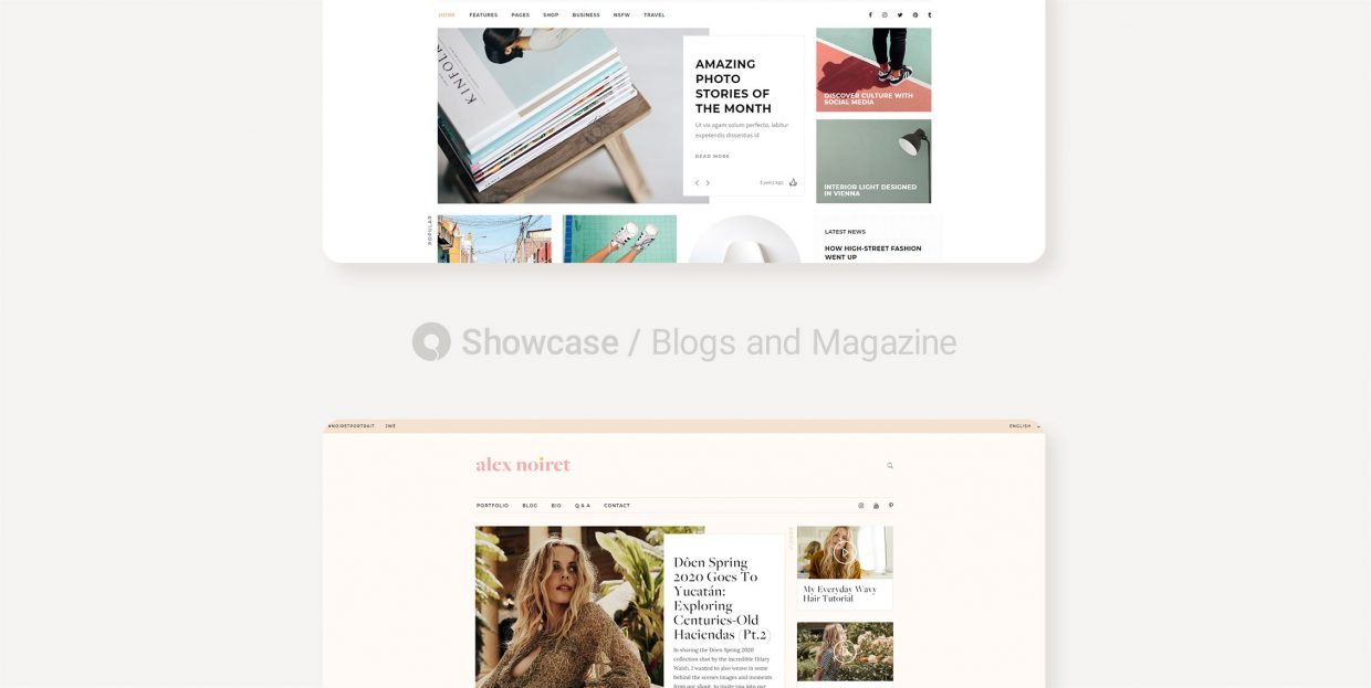 Top 22 Blogs and Magazine Websites Made With Qode Themes