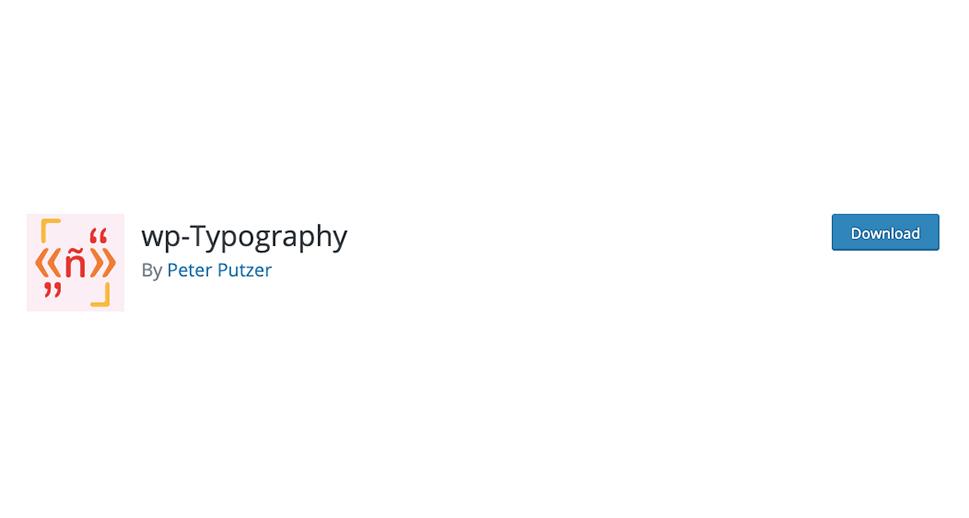 WP-Typography
