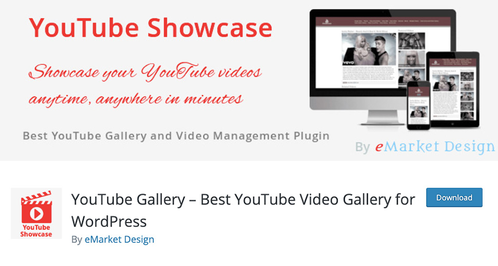 YouTube Showcase