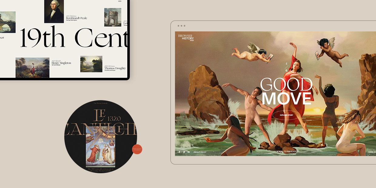 An Exploration of the Renaissance Trend in Web Design and Other Modern Media featured