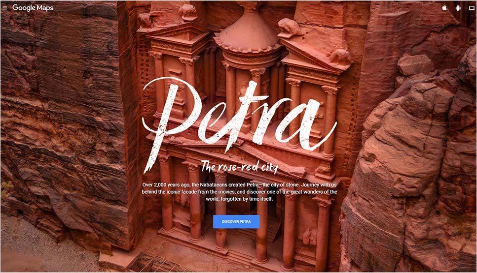 Google Street View Treks: Petra