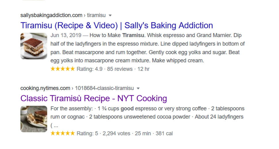 Google Image example