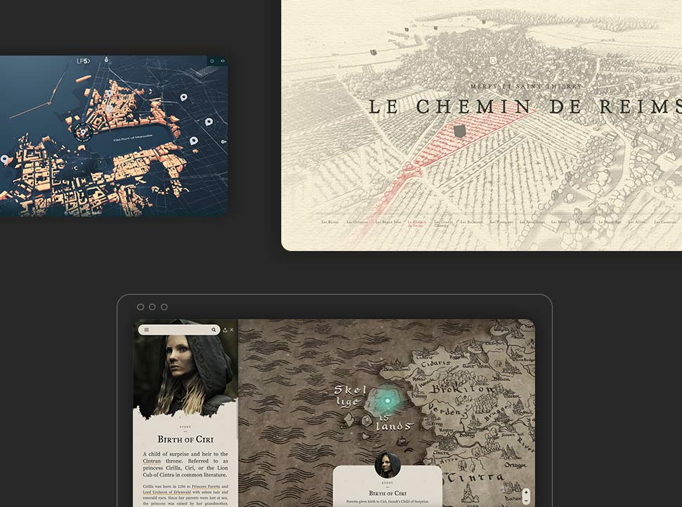 Inspiring Examples of Interactive Maps in Web Design b;og