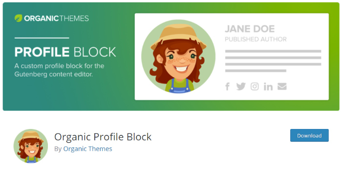 Organic Profile Block