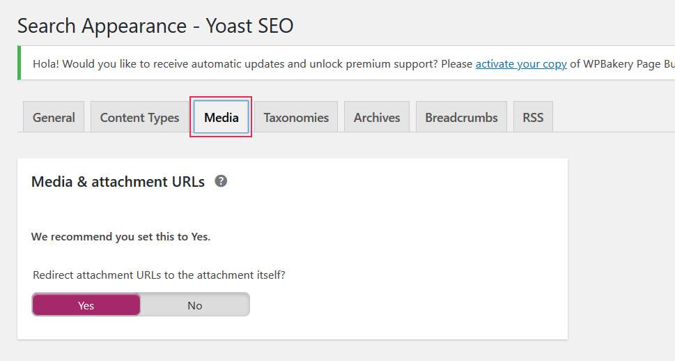 Redirect attachment URLs to the attachment itself